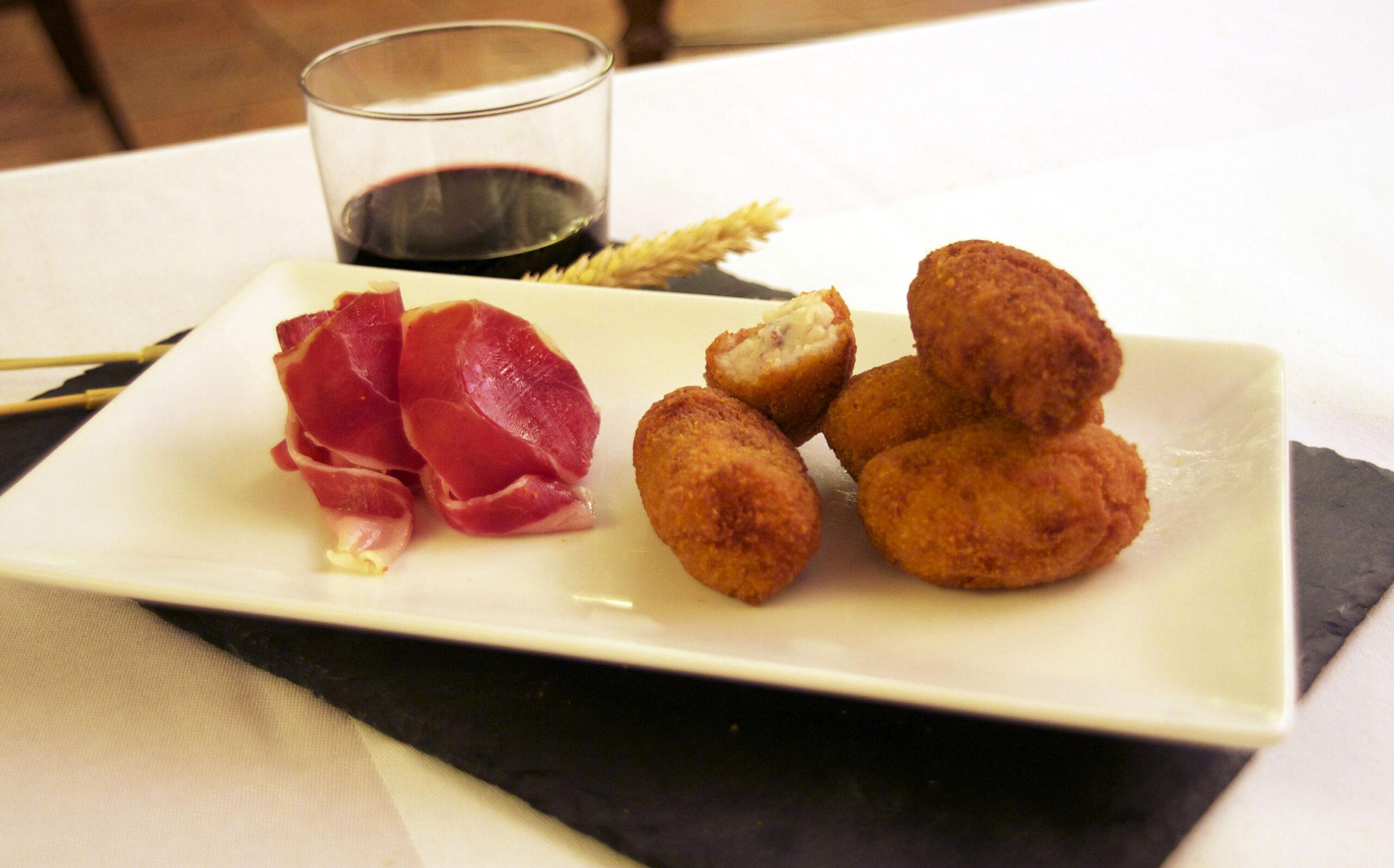 jamón ibérico con trufa Precoan